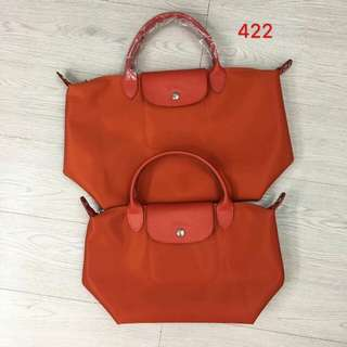 Neo Short Handle Tote Long Champ