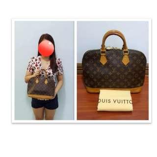2 Authentic Louis Vuitton Alma