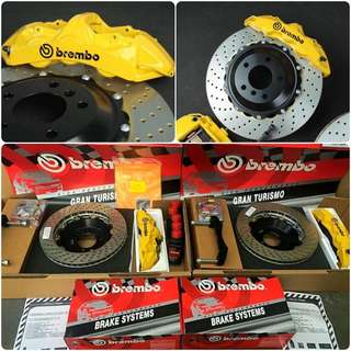 Brembo gt6 genuine recondition for Volkswagen golf gti