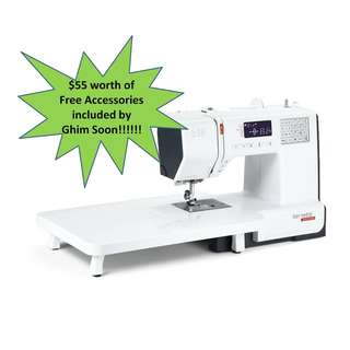 (2 Years Warranty) Bernette B38 Computerized Sewing Machine