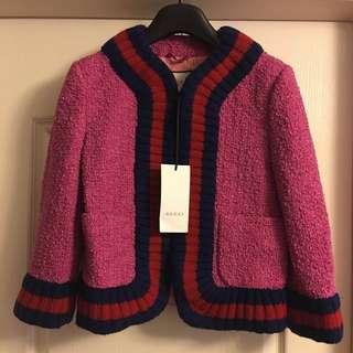 全新Gucci Tweed jacket new(原價$2xxxx)