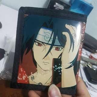 Naruto Itachi Stick wallet double sides