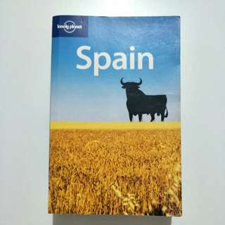 Spain Lonely Planet $8