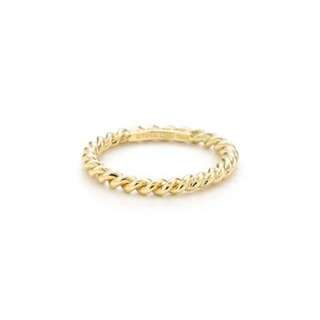 Tiffany & Co - Yellow Gold Twist Ring