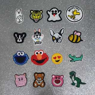 《INSTOCKS》Iron on patches