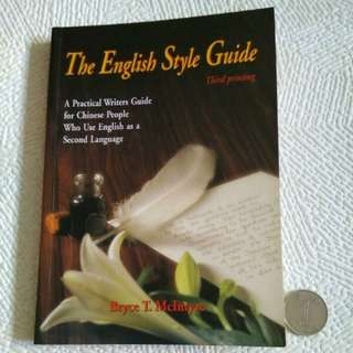 The English Style Guide For Chinese People