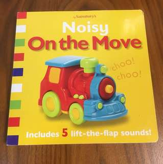 DK Noisy On the Move with Lift-the-Flap Sounds Book