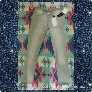 Forever 21 Gray Denim Pants