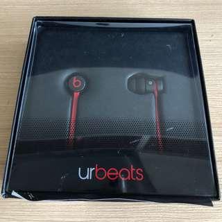 [Reduced Price] urBeats2 Earphones with 3.5mm Plug - Matte Black