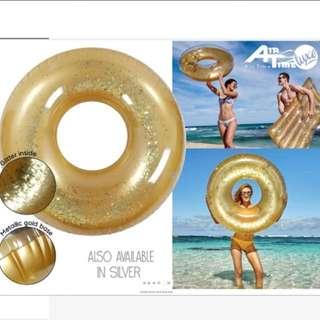 Glitter swim ring