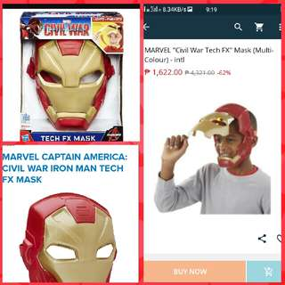 70%off authentic Iron man mask