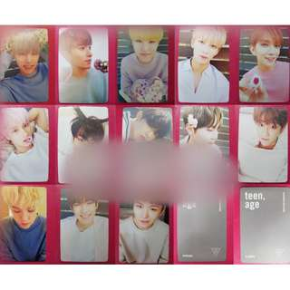 SEVENTEEN Duplicate Card / Set [ White Version ]