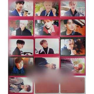 SEVENTEEN Duplicate Card / Set [ Orange Version ]