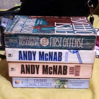 Assorted books for P10 each!!
