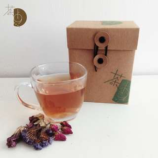 茶・點 毋忘我、紫羅蘭、玫瑰 Myosotis Sylvatica, Violet, Rose