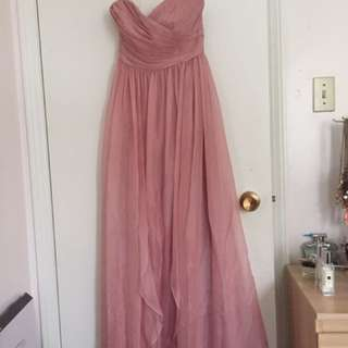 B2 Jasmine dress in dusty pink