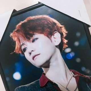 EXO baekhyun fansite LOVEAPPEAL A4 photo frame