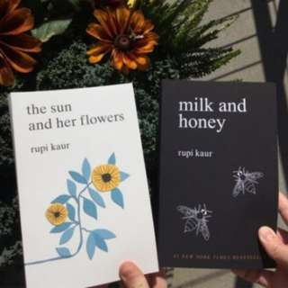 BN Milk and Honey / The Sun and Her Flowers by Rupi Kaur