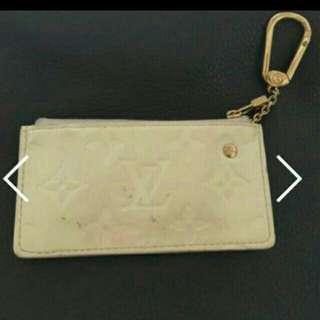1折 保證正品  LV漆皮零錢包鑰匙包