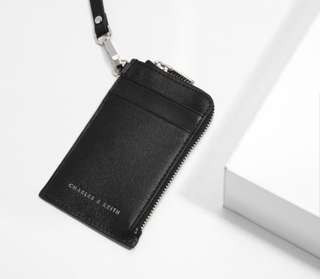 Charles & Keith Black Card Holder
