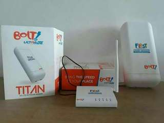 First bolt home wifi rumahan tanpa batas kuota