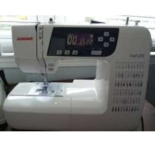 (Free Delivery) Janome 3160QDC Quilter's Machine with extension table provided
