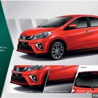 Produa myvi new
