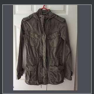 Aritzia military jacket
