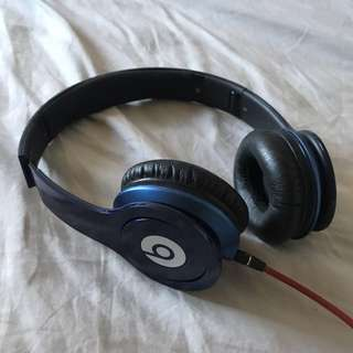 Beats by Dre, blue