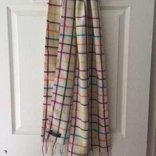 Coach cashmere wool scarf