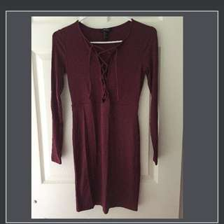 Forever 21 jersey dress in size S