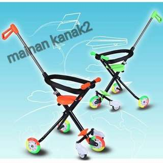 5 roda Magic Stroller