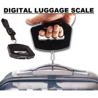 Digital Luggage Scale 50kg (Singapore Seller + 100% Authentic) HM1013