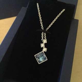 Swarovski blue pendant