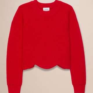 Aritzia Wilfred sardou wool sweater
