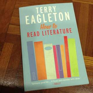 How To Read Literature (Terry Eagleton)
