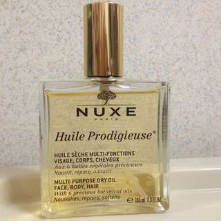 Nuxe multi purpose natural dry oil huile prodigieuse 100ml