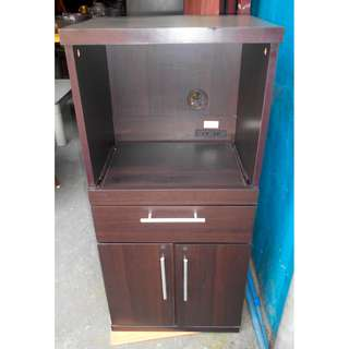 Open Display with 2 Doors and 1 Drawer
