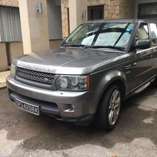 Range Rover Sports 5.0 V8 Super charged  2010