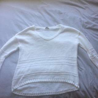White knitted jumper - GAP!