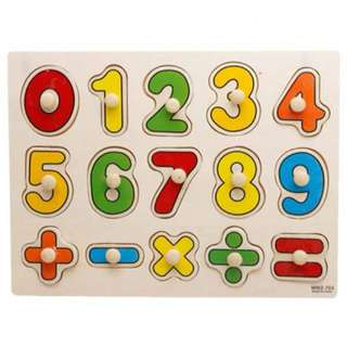 WOODEN NUMBERING BOARD