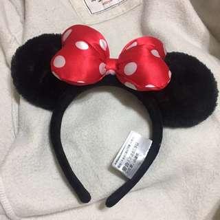 香港迪士尼購入 米妮髮窟