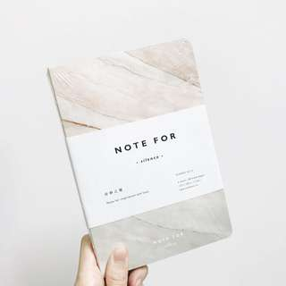 Brown Marble Notebook