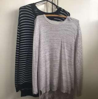 2 Oversized sweaters