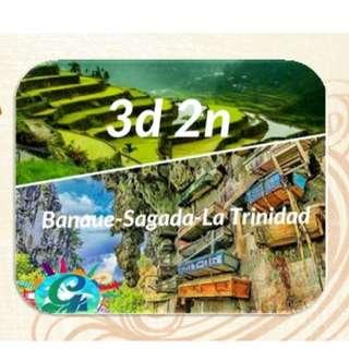 EXCLUSIVE 3D 2N SAGADA TOUR jan 29- 31 2018