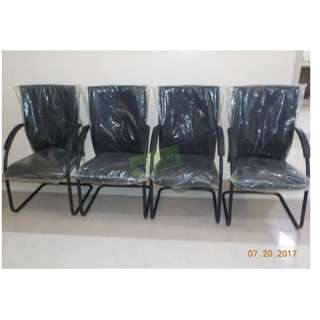 Sled Type Visitor Chair Office Partition Furniture