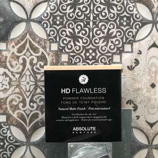 Absolute new york HD Flawless Lowder Foundation Fond De Teint Poudre Matte