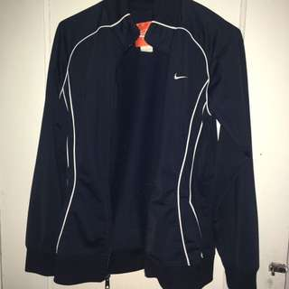 Nike zip up track jacket