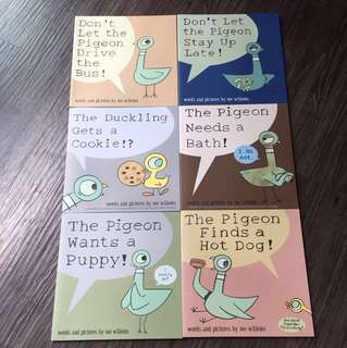 The Pigeon Series by Mo Willems