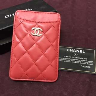 chanel phone casing (not sure original or not)